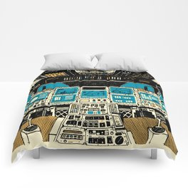 To Outer Space! Comforters