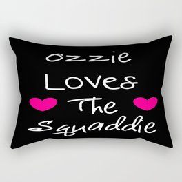 Doctor Who Ozzie Loves The Squaddie Rectangular Pillow
