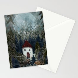 wizard wood Stationery Cards
