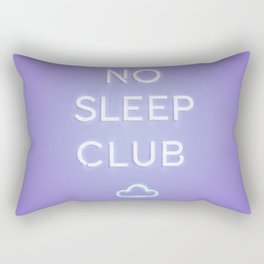 No Sleep Club Rectangular Pillow