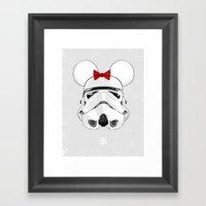 Salt — Mini Trooper Framed Art Print
