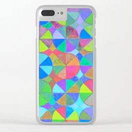 Rainbow Shard Clear iPhone Case