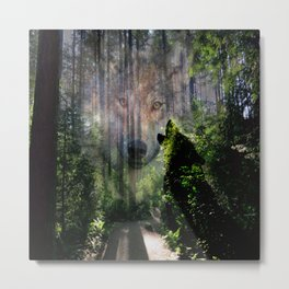 The Wild in Us Metal Print