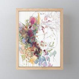 take care of your garden Framed Mini Art Print