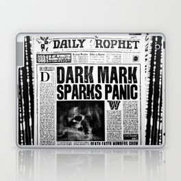 Daily Prophet newspaper Laptop & iPad Skin