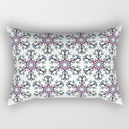 Medallion Traditional 1 repeating Rectangular Pillow