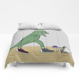 The T-Rex Bowls Comforters