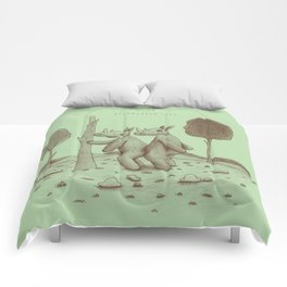 Endangered Love - Rhino Sutra Comforters