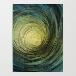 Ethereal Spiral Poster