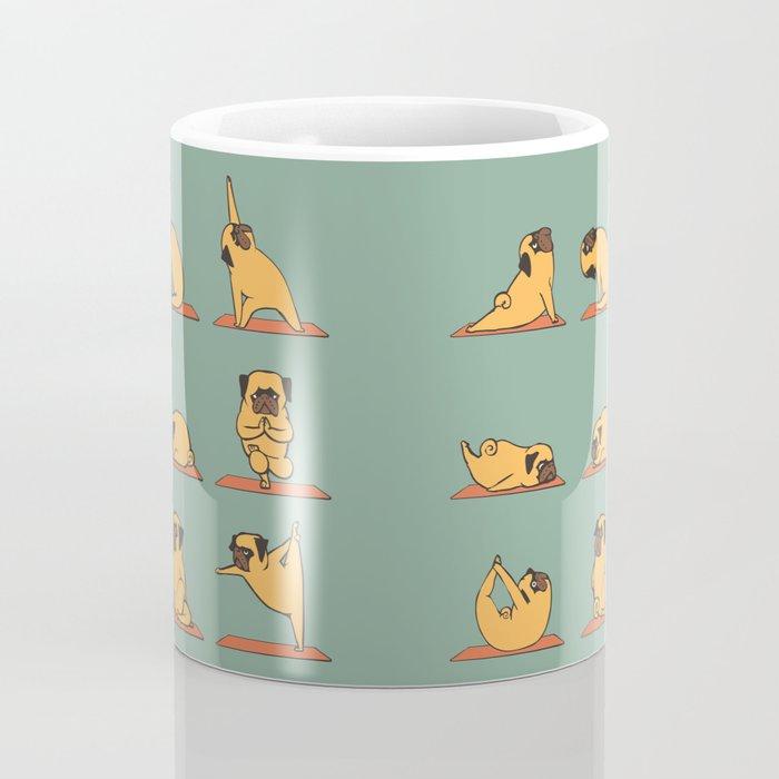 Pug Yoga Coffee Mug