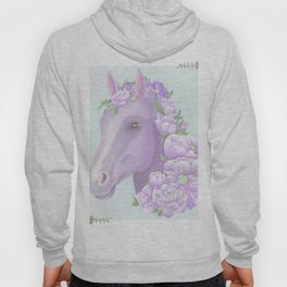 The Purple Horse Hoody