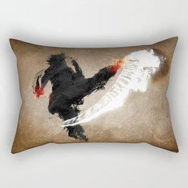 Get Bent :: Fire Rectangular Pillow