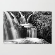 Waterfalls movement Canvas Print