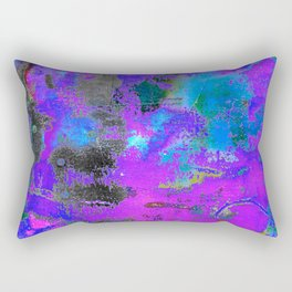 Color Cracking Rectangular Pillow