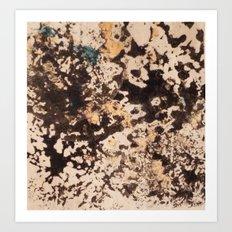 Splattered Space Art Print