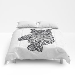 Zentangle Cat Comforters