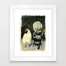 Colonel Sanders Sr. Framed Art Print