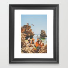Summer in Victoria Framed Art Print