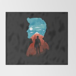Nathan Drake Throw Blanket