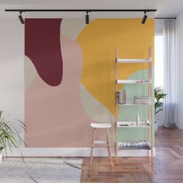 Ziz Abstract Painting Wall Mural