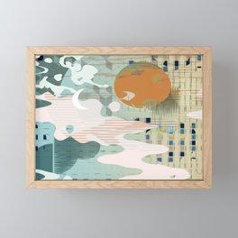 Golden Hour Framed Mini Art Print