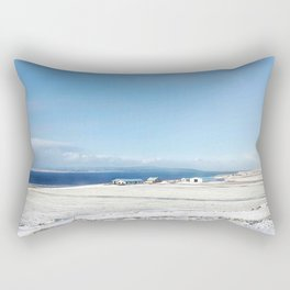 Blue roof Rectangular Pillow