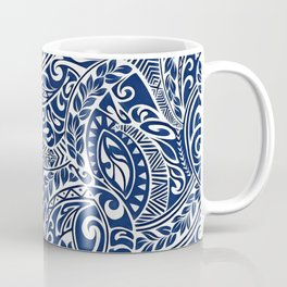 Hawaiian tribal pattern III Coffee Mug