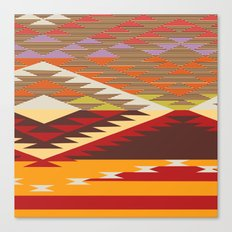 American Native Pattern No. 46 Canvas Print