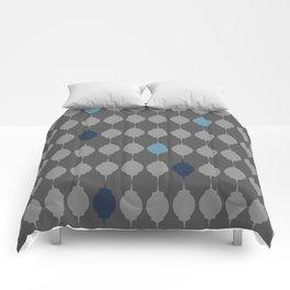 Blue Lanterns Comforters