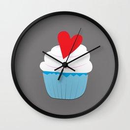 Creative Cupcakes Wall Clock