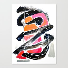 The Big Zag Canvas Print