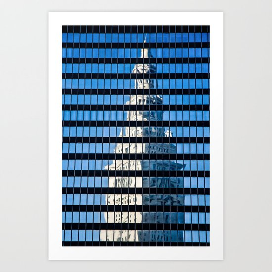Cleveland Terminal Tower Art Print