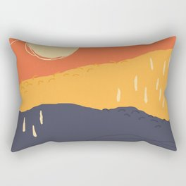 Sunrise Mountain Rectangular Pillow