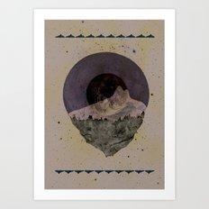 Soulful Gaze Art Print