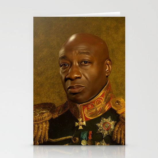 Michael Clarke Duncan - replaceface Stationery Cards