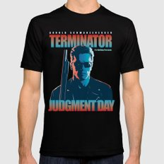 Terminator 2 - Alternative Poster X-LARGE Black Mens Fitted Tee