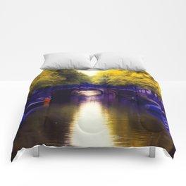 A small bridge Comforters