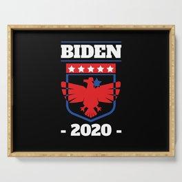 Star Democrat Joe Biden 2020 Campaign Shirt Vote Serving Tray