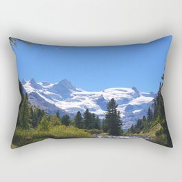 Roseggtal Switzerland - Swiss Alps Travel Rectangular Pillow
