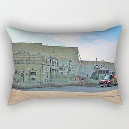 A Toledo Mural I Rectangular Pillow