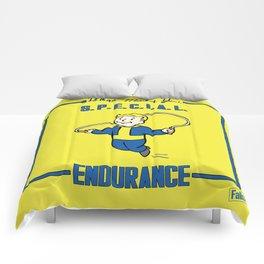 Endurance S.P.E.C.I.A.L. Fallout 4 Comforters