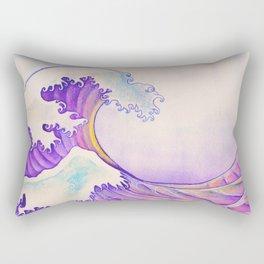 The Great Sunset Wave Rectangular Pillow