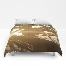 Sunset Sakura Comforters