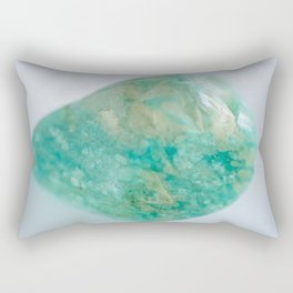 Amazonite - The Peace Collection Rectangular Pillow