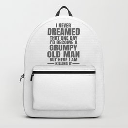 GRUMPY OLD MAN Backpack