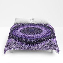 Purple Tapestry Mandala Comforters
