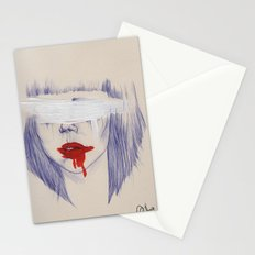 Damaged hearts Stationery Cards