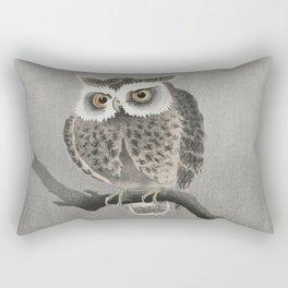 Long-eared owl Rectangular Pillow