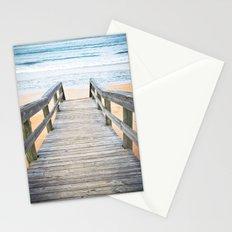 Florida Beach Walkway Stationery Cards