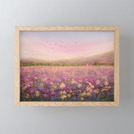 Spring Meadow Framed Mini Art Print